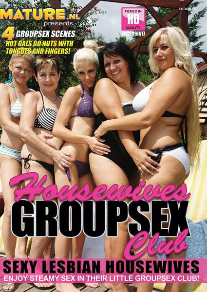 Housewives Group Sex Club Box Cover