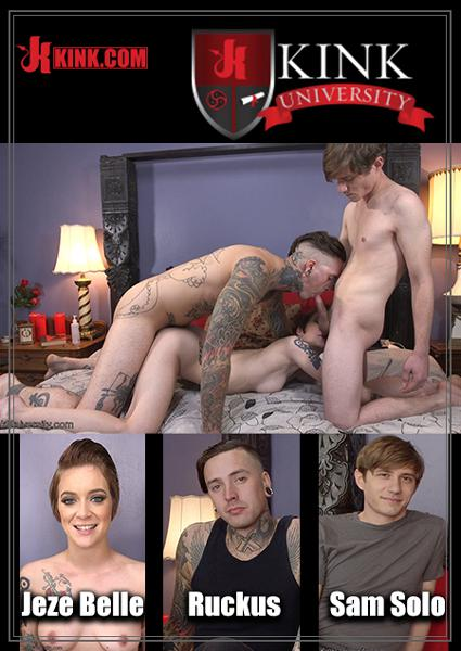 Kink University - How To Have A Bisexual MMF Threesome Box Cover