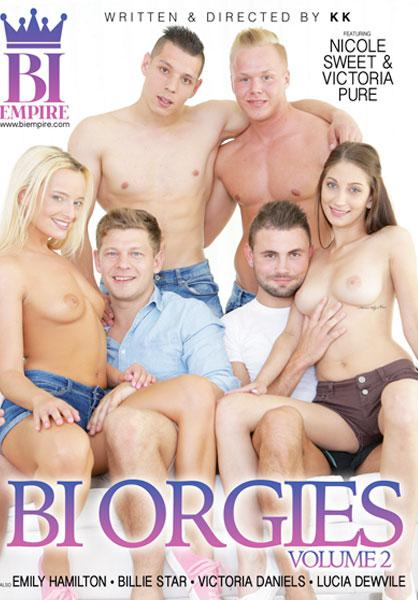 Bi Orgies Vol. 2 Box Cover
