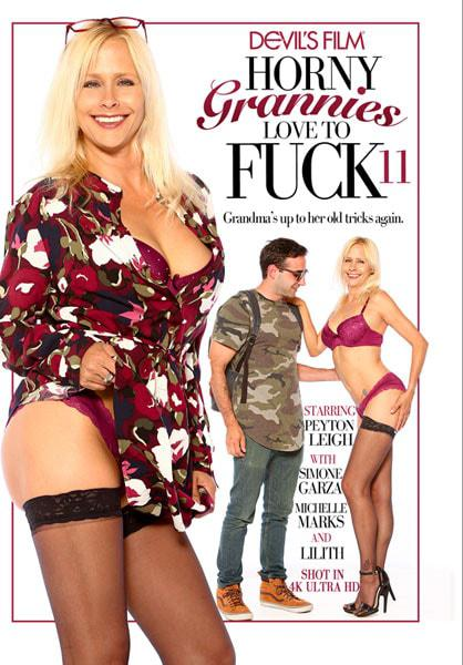 Horny Grannies Love To Fuck 11 Box Cover