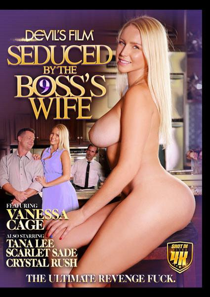 Seduced By The Boss's Wife 9 Box Cover