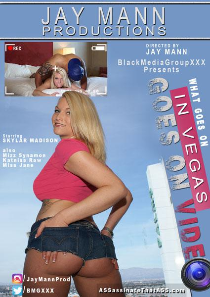 What Goes On In Vegas Goes On Video Box Cover