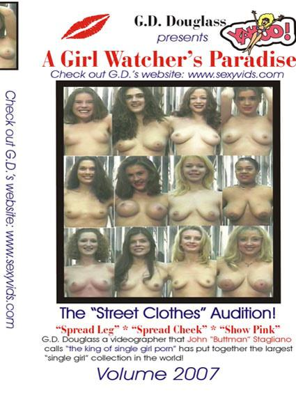 A Girl Watcher's Paradise - The Street Clothes Audition! Volume 2007 Box Cover