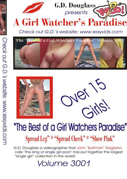 A Girl Watcher's Paradise Volume 3001 Box Cover