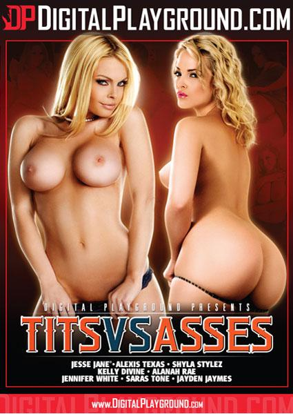 Tits Vs. Asses Box Cover