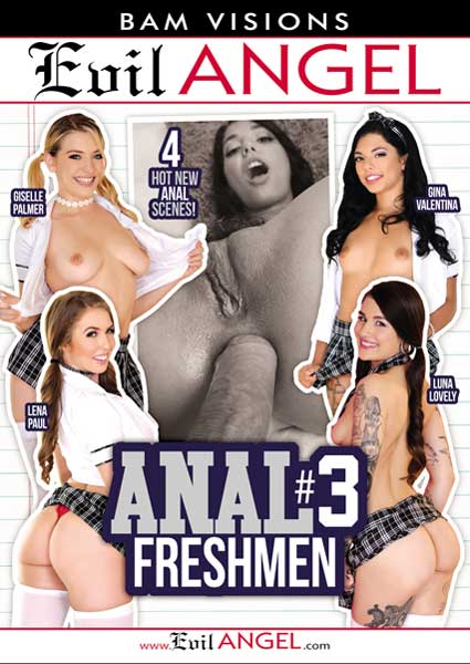 Anal Freshmen #3 Box Cover