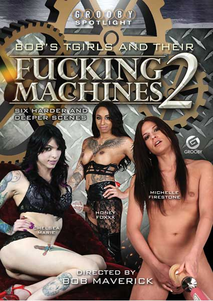 Bobs Tgirls and their Fucking Machines 2 Box Cover