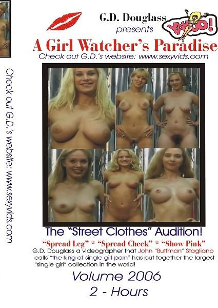 A Girl Watcher's Paradise - The Street Clothes Audition! Volume 2006 Box Cover