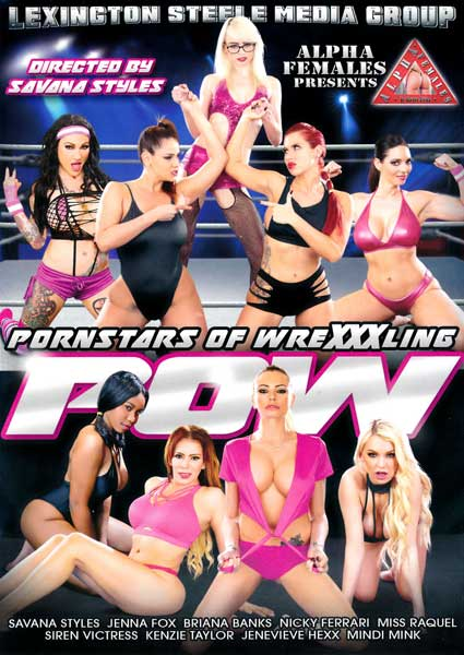 POW - Pornstars Of WreXXXling Box Cover