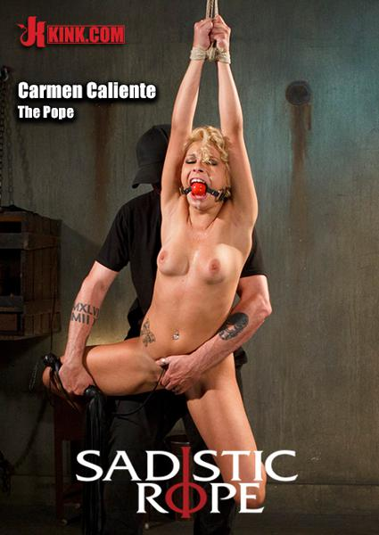 Sadistic Rope - Carmen Caliente In Tight Bondage And Screaming Box Cover