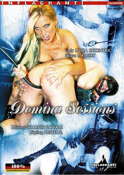 Domina Sessions - Lady Lucia Exentric and Sklave P Albert & Mistress Sharon Da Vale and Zolgling Mister S Box Cover