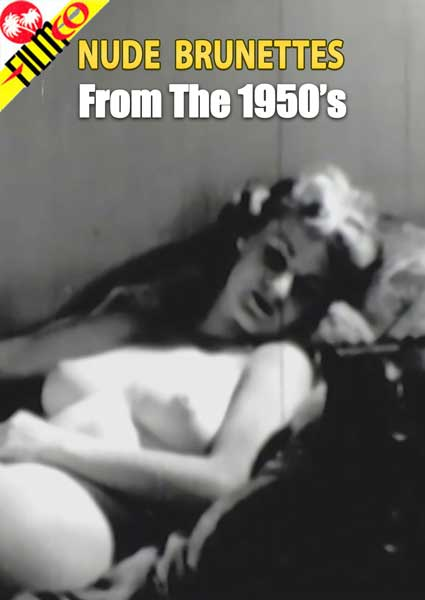 Nude Brunettes From The 1950's Box Cover