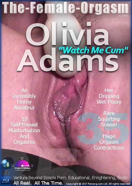 Olivia Adams 35 - Watch Me Cum Box Cover