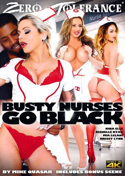 Busty Nurses Go Black Box Cover