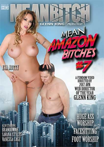 Mean Amazon Bitches 7 Box Cover