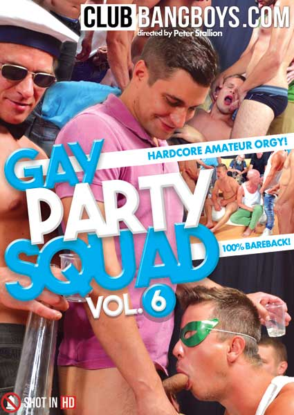Gay Party Squad 6 Box Cover