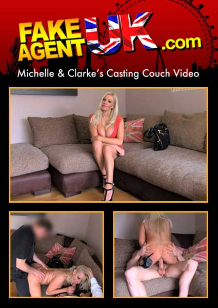 Fakeagentuk michelle thorne threesome casting with busty milf