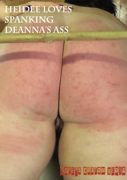 Heidee Loves Spanking Deanna's Ass Box Cover