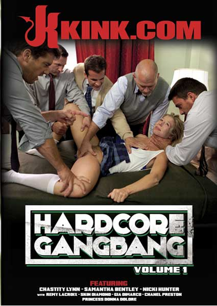 Hardcore Gangbang Volume 1 Box Cover