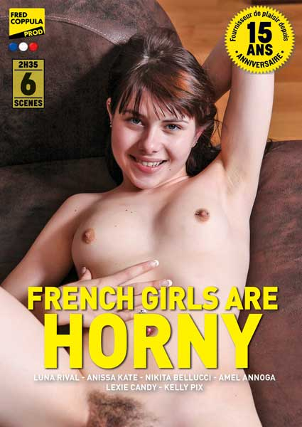French Girls Are Horny (French) Box Cover