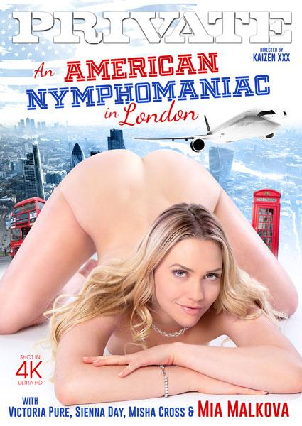 An American Nymphomaniac In London Box Cover