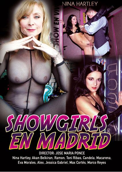 Showgirls En Madrid Box Cover