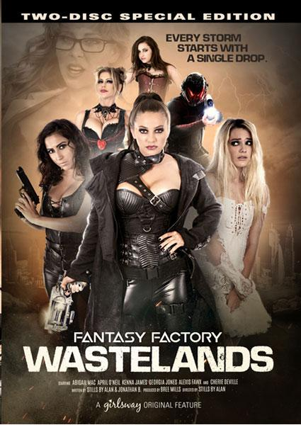 Fantasy Factory Wastelands box cover from Girlsway