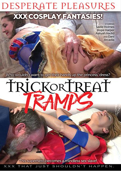 Trick Or Treat Tramps Box Cover - Login to see Back