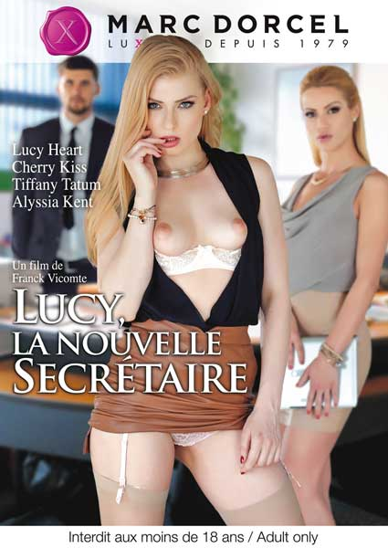 Lucy, The New Secretary (French) Box Cover