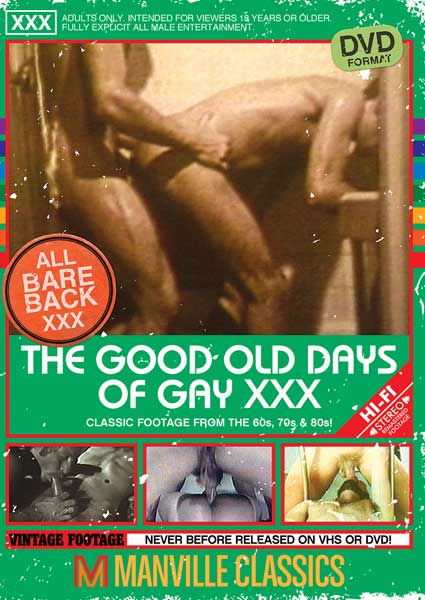The Good Old Days of Gay XXX Box Cover