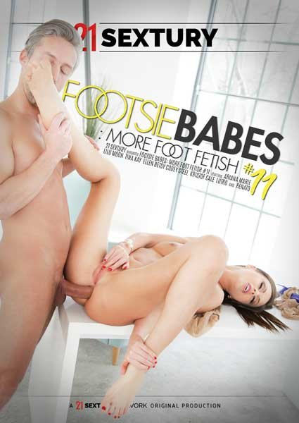 Footsie Babes: More Foot Fetish #11 Box Cover