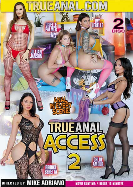 True Anal Access 2 Box Cover