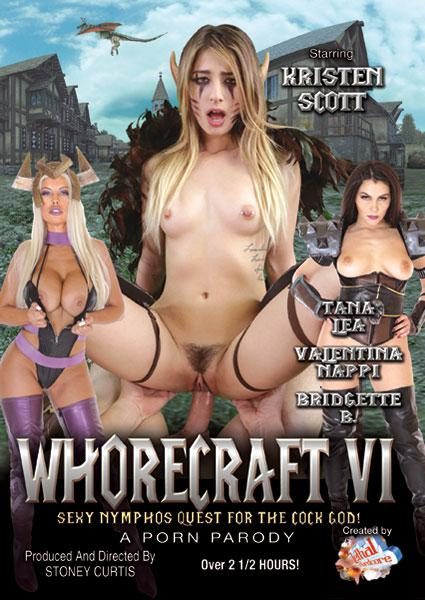 Whorecraft VI - Sexy Nymphos' Quest For The Cock God! Box Cover