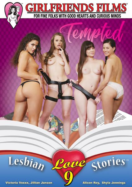 Lesbian Love Stories 9 - Tempted Box Cover