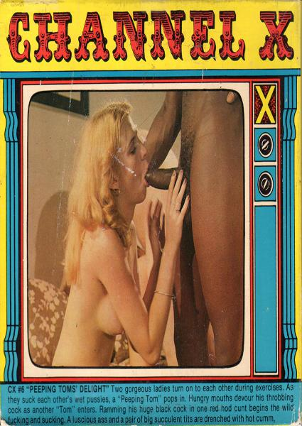 Channel X #6 - Peeping Tom's Delight Box Cover