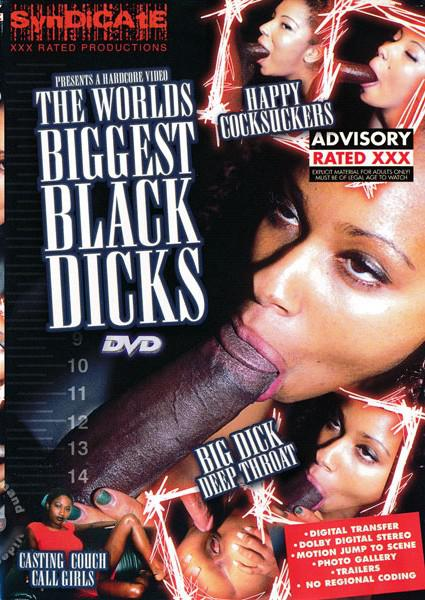 The World's Biggest Black Dicks Box Cover