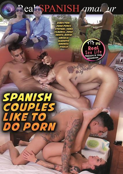 Spanish Couples Like To Do Porn Box Cover - Login to see Back