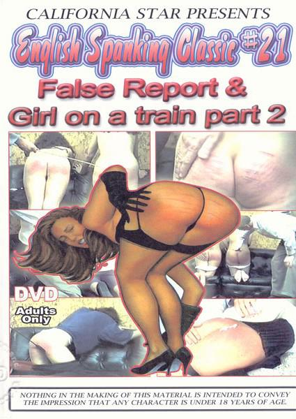 English Spanking Classic #21 False Report & Girl On A Train Part 2 Box Cover