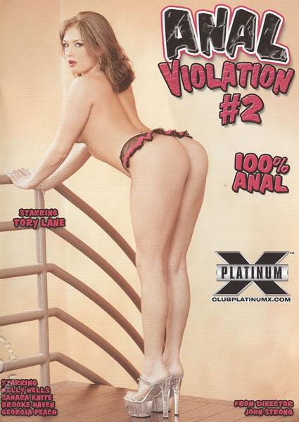 Anal Violation #2 Box Cover