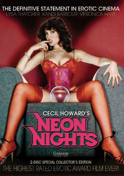 Cecil Howard's Neon Nights Box Cover - Login to see Back
