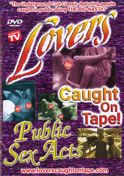 Lover Caught On Tape - Public Sex Acts Box Cover