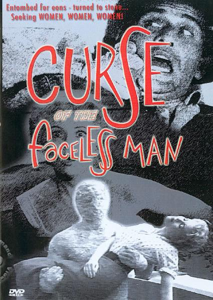 Curse Of The Faceless Man Box Cover