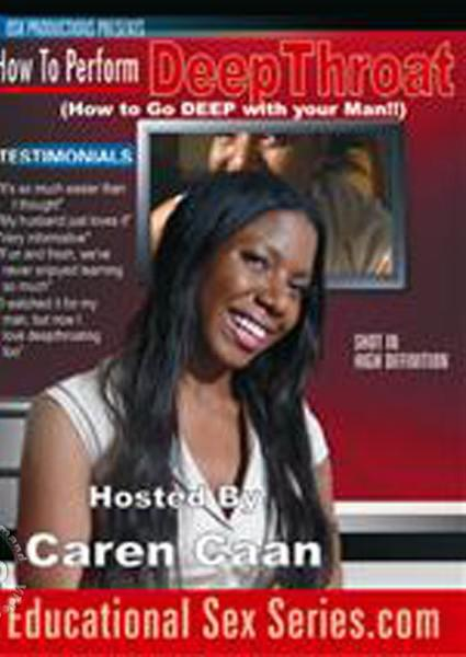 How to Perform Deep Throat Hosted By Caren Caan Box Cover