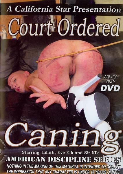 Court Ordered Caning Box Cover