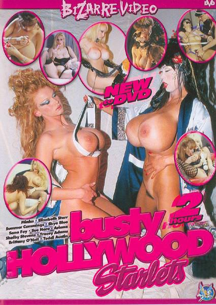 Busty Hollywood Starlets Box Cover
