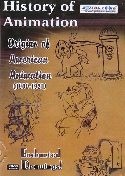 History of Animation - Origins of American Animation 1900 - 1921 Box Cover