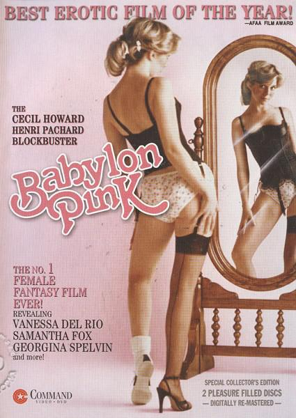 Original Theatrical Trailer For Cecil Howard's Babylon Pink Box Cover
