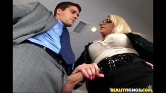 Big Tits On The Clock: The Blonde Boss Edition Clip 2 00:38:20