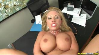 Big Tits On The Clock: The Blonde Boss Edition Clip 6 03:16:20